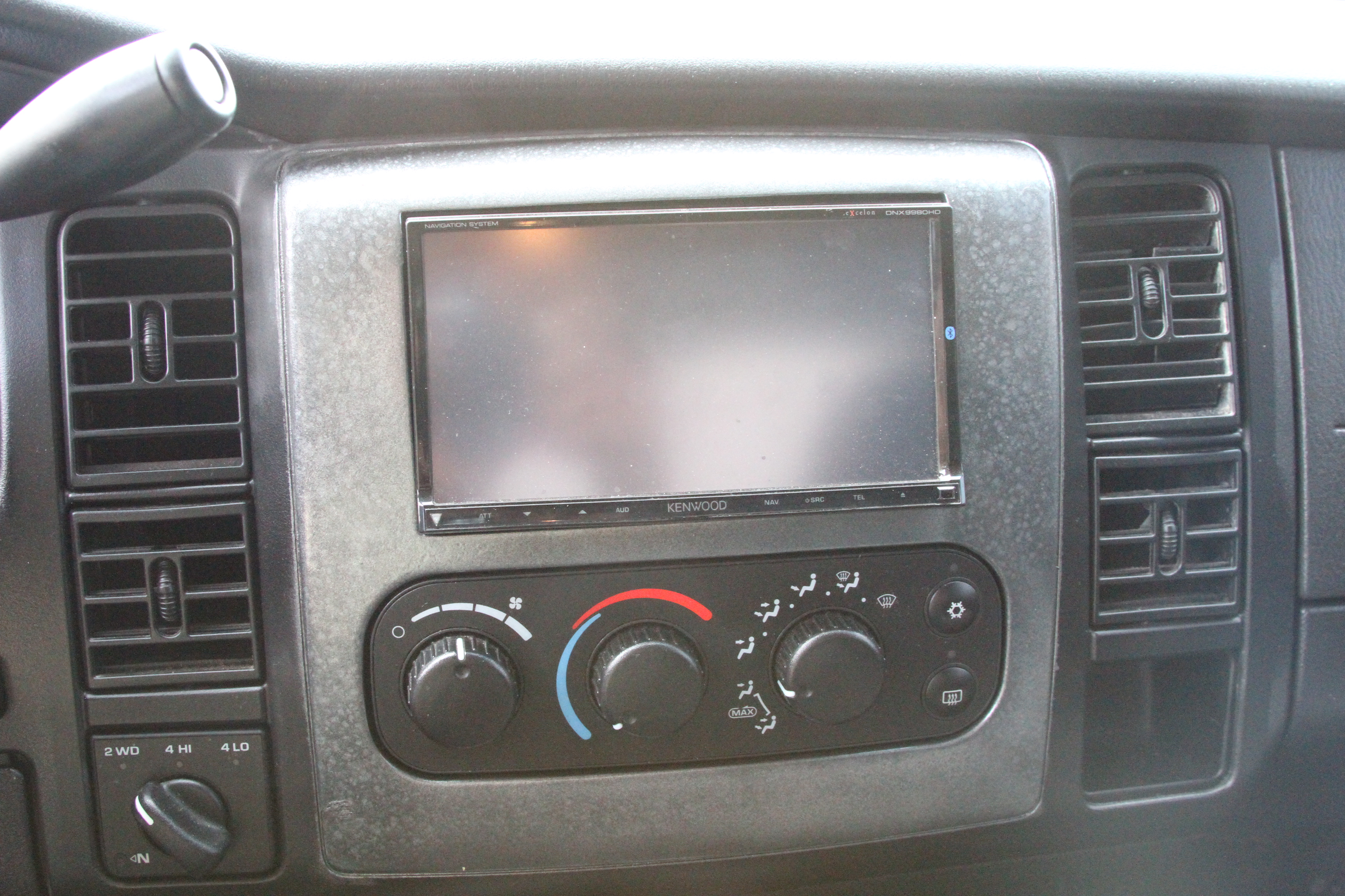 how to build a dodge ram 1500 double din bezel