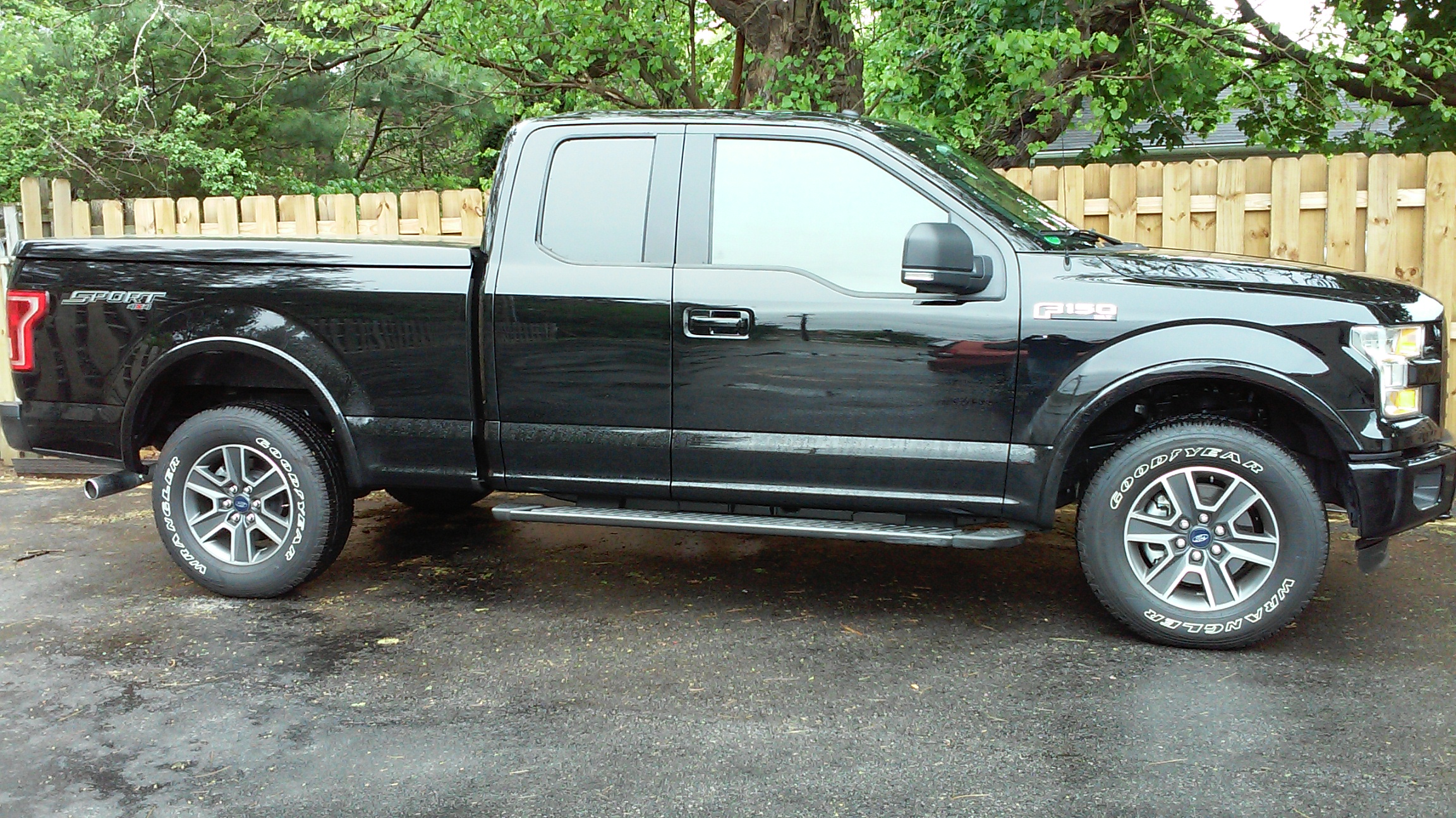 Photo 2016 Ford F 150 Window Tint After